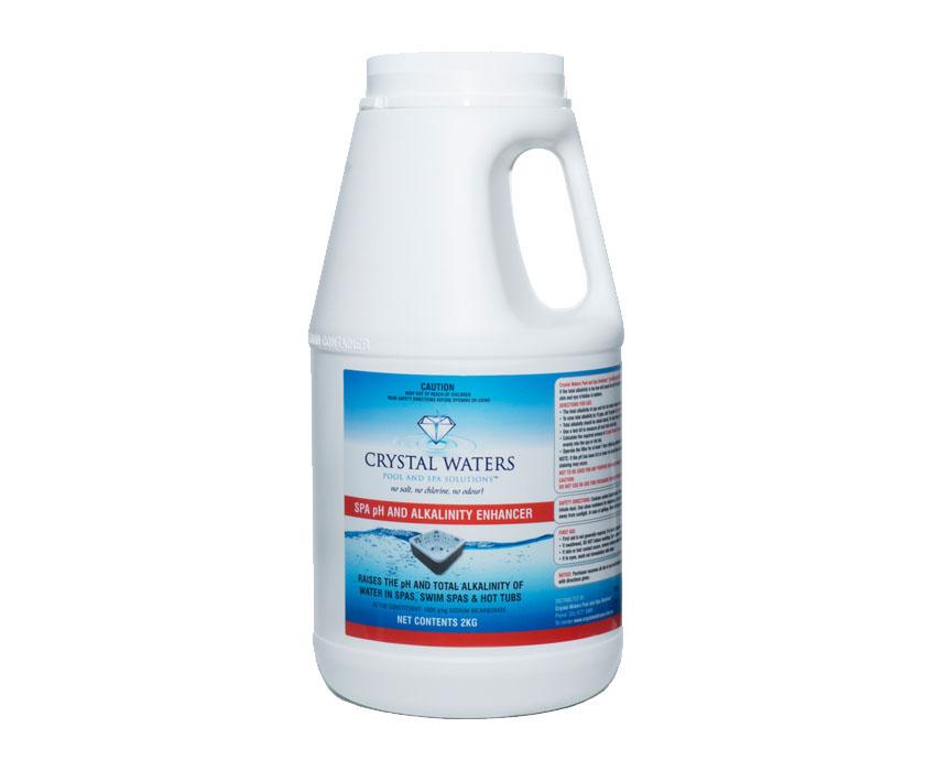 Swim Spa Ph And Alklainity Enhancer 2kg Crystal Waters